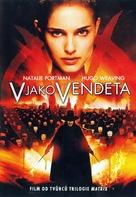 V for Vendetta - Czech Movie Cover (xs thumbnail)