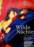 Nuits fauves, Les - German Movie Poster (xs thumbnail)