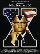 Malcolm X - French Movie Poster (xs thumbnail)