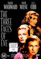 The Three Faces of Eve - Australian DVD cover (xs thumbnail)