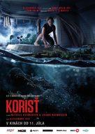 Crawl - Slovak Movie Poster (xs thumbnail)