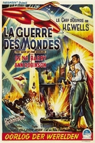 The War of the Worlds - Belgian Movie Poster (xs thumbnail)