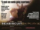 Seabiscuit - British Movie Poster (xs thumbnail)