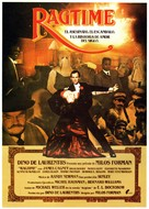 Ragtime - Spanish Movie Poster (xs thumbnail)