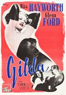Gilda - Swedish Movie Poster (xs thumbnail)