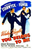 You Belong to Me - Movie Poster (xs thumbnail)