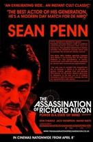 The Assassination of Richard Nixon - British Movie Poster (xs thumbnail)