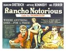 Rancho Notorious - Movie Poster (xs thumbnail)