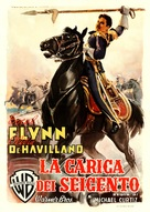 The Charge of the Light Brigade - Italian Movie Poster (xs thumbnail)