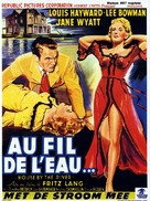 House by the River - Belgian Movie Poster (xs thumbnail)