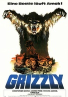 Grizzly - German Movie Poster (xs thumbnail)