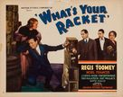 What's Your Racket? - Movie Poster (xs thumbnail)