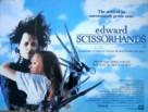 Edward Scissorhands - British Movie Poster (xs thumbnail)
