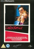 Saboteur - British DVD movie cover (xs thumbnail)