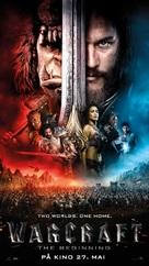 Warcraft - Norwegian Movie Poster (xs thumbnail)