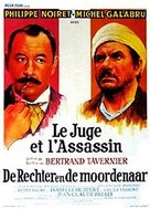 Juge et l'assassin, Le - Belgian Movie Poster (xs thumbnail)