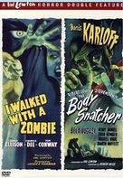 I Walked with a Zombie - DVD cover (xs thumbnail)