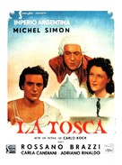 Tosca - French Movie Poster (xs thumbnail)
