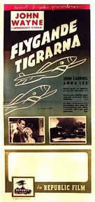 Flying Tigers - Swedish Movie Poster (xs thumbnail)