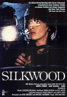 Silkwood - German Movie Poster (xs thumbnail)