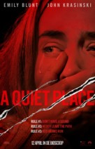 A Quiet Place - Dutch Movie Poster (xs thumbnail)