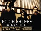 Foo Fighters: Back and Forth - British Movie Poster (xs thumbnail)