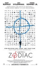 Zodiac - Swiss Movie Poster (xs thumbnail)