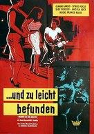 Morte di un amico - German Movie Poster (xs thumbnail)