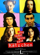 Chacun cherche son chat - German Movie Poster (xs thumbnail)