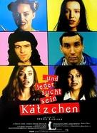 Chacun cherche son chat - German Movie Poster (xs thumbnail)