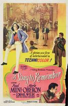 A Song to Remember - Movie Poster (xs thumbnail)
