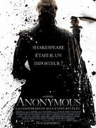 Anonymous - French Movie Poster (xs thumbnail)