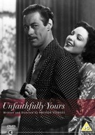 Unfaithfully Yours - British DVD movie cover (xs thumbnail)