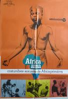 Africa ama - Spanish Movie Poster (xs thumbnail)