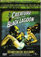 Creature from the Black Lagoon - Finnish DVD cover (xs thumbnail)