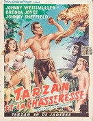 Tarzan and the Huntress - Belgian Movie Poster (xs thumbnail)