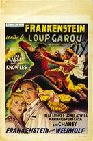 Frankenstein Meets the Wolf Man - Belgian Movie Poster (xs thumbnail)