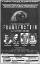 Frankenstein Unbound - poster (xs thumbnail)