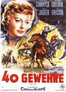 Forty Guns - German Movie Poster (xs thumbnail)