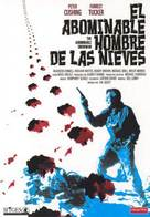 The Abominable Snowman - Spanish DVD cover (xs thumbnail)
