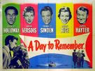A Day to Remember - British Movie Poster (xs thumbnail)