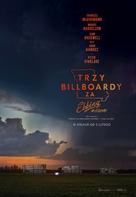 Three Billboards Outside Ebbing, Missouri - Polish Movie Poster (xs thumbnail)