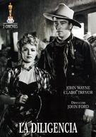 Stagecoach - Spanish DVD cover (xs thumbnail)