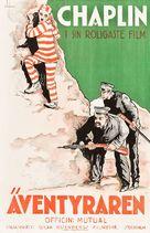 The Adventurer - Swedish Movie Poster (xs thumbnail)