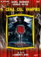 Dinner with a vampire - Italian DVD cover (xs thumbnail)