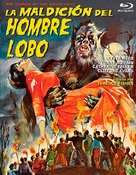 The Curse of the Werewolf - Spanish Blu-Ray cover (xs thumbnail)