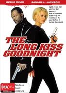 The Long Kiss Goodnight - Australian DVD movie cover (xs thumbnail)