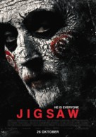 Jigsaw - Dutch Movie Poster (xs thumbnail)