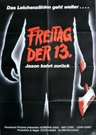 Friday the 13th Part 2 - German Movie Poster (xs thumbnail)