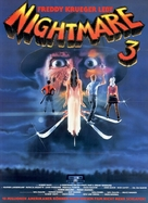 A Nightmare On Elm Street 3: Dream Warriors - German Movie Poster (xs thumbnail)